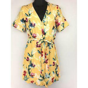 Alexia Admor Womens Wrap Dress 8